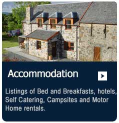 accommodation on the Isle of mull including hotels bed and breakfast and camping