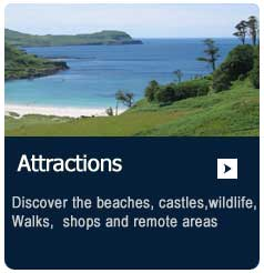 Attractions on the isle of Mull