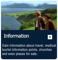 Information about travel, medical and general tourist information