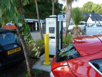 NewTobermory charging point.