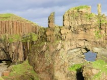 Carsaig Arches a geological and walking attraction
