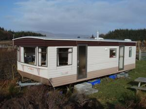 New Croft caravan