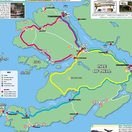 Explore Mull information map