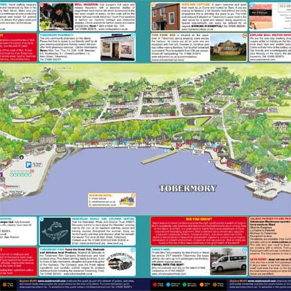 Tobermory map
