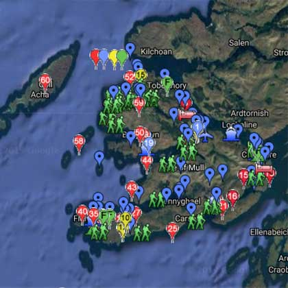 Mull Google map