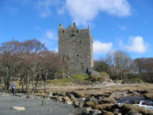Moy Castle the home of Clan Maclane