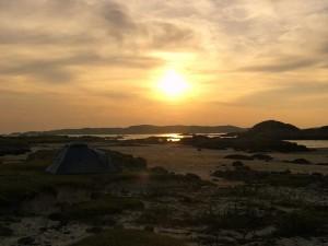 Fidden Beach sunset
