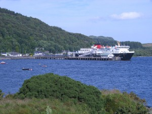 Getting to Mull and arriving at Craignure