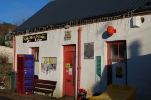 Dervaig post office and store