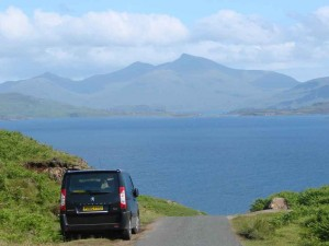getting to mull by car