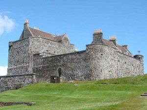 Duart Castle a big feature in Mull's history and a main attraction