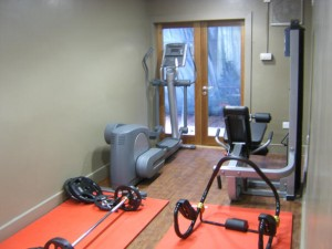 Fitness suite in the Mull Swimming Pool