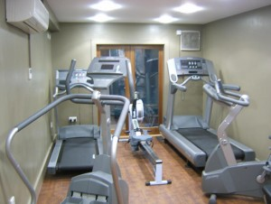 Gym at the Mull Swimming Pool