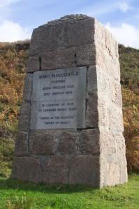 Mary MacDonald's Cairn