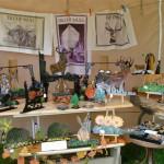 Tent shop interior
