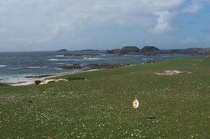 golf course on Iona