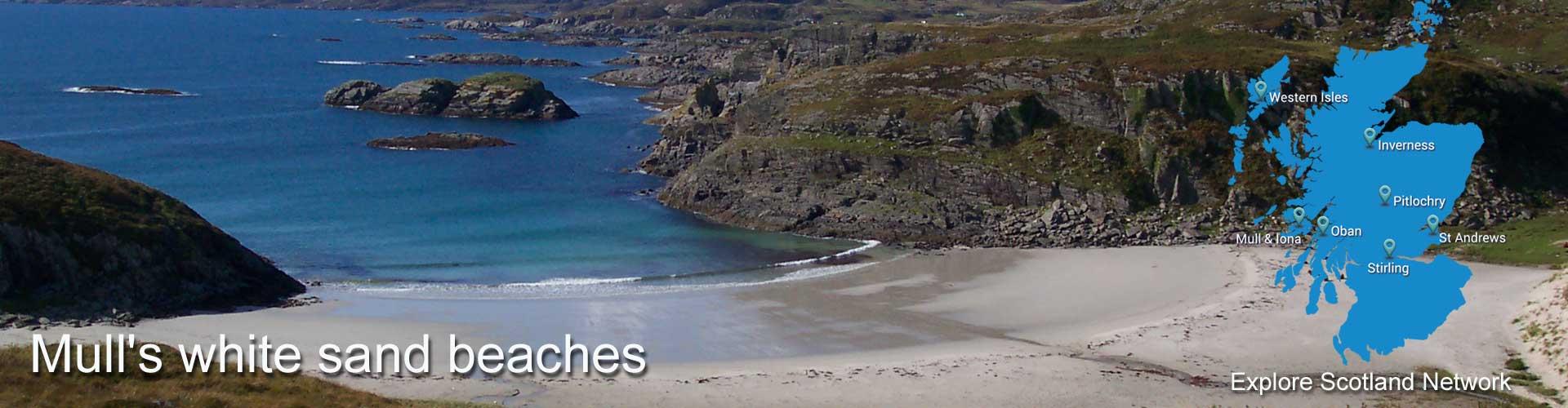 Isle of Mull beaches