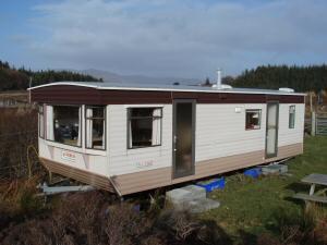 New Croft caravan