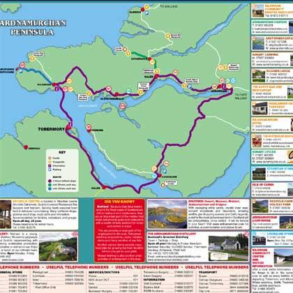 Ardnamurchan  map