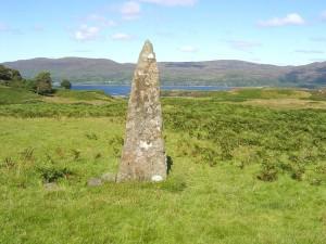 Ulva standing stones