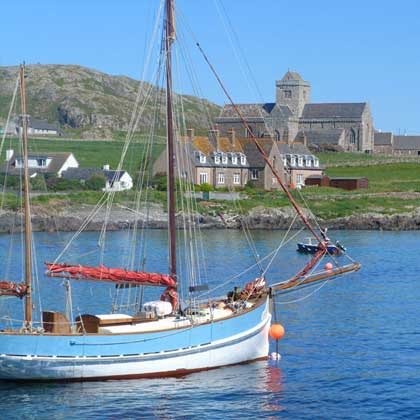 accommodation on Iona