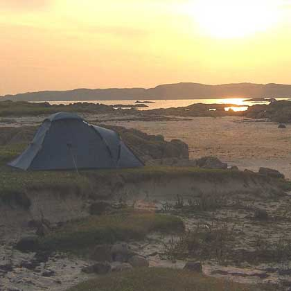 Wild Camping in Mull