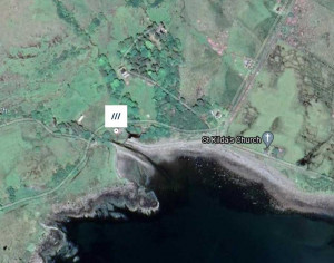 Lochbuie wild camping map