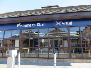 getting to Mull via oban by train